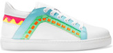 Sophia Webster Riko Leather Sneakers - White