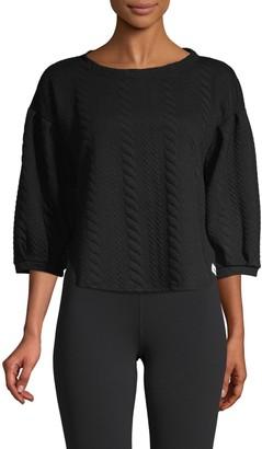 Vimmia Calm Puff-Sleeve Pullover