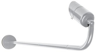 W.A.C. Lighting Endurance Architectural Graphite 1 - Bulb Integrated LED Outdoor Armed Sconce Color Temperature: 4000K