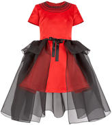 Junior Gaultier Mini Me satin dress
