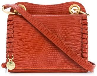 See by Chloe Snakeskin Effect Shoulder Bag