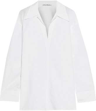 Acne Studios Oversized Cotton-poplin Shirt