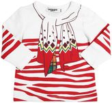 Junior Gaultier Printed Cotton Jersey T-Shirt