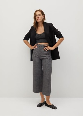 MANGO Culottes suit trousers