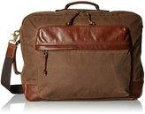 Fossil Men's Defender Waxed Canvas Backpack Workbag