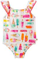 Kate Spade Girls' Ice Cream-Print Swimsuit