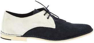 Pierre Hardy Navy Suede Lace ups