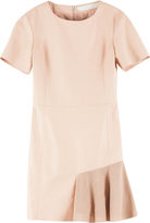 Drome Leather Frill Dress