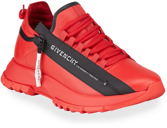 Givenchy Men's Spectre Leather Runner Sneakers