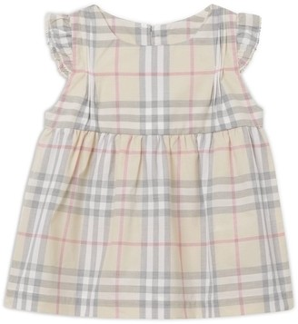 Burberry Kids Vintage Check Dress and Bloomers Set