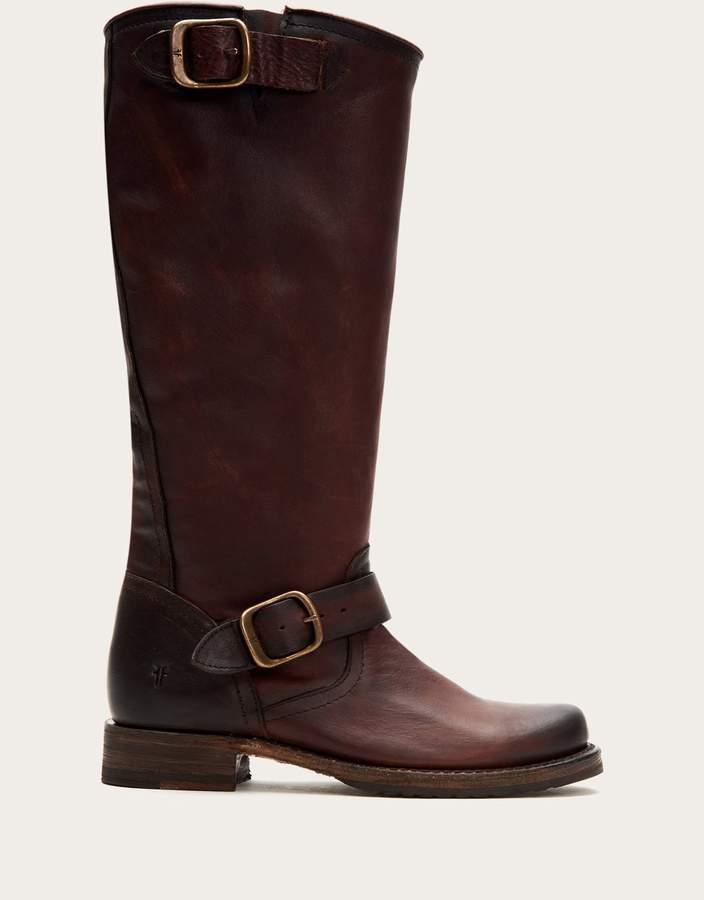 d56d9c68d005a Leather Slouch Boots - ShopStyle
