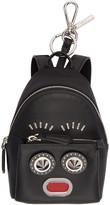 Fendi Black Mini Backpack Keychain
