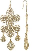 Yochi Chandelier Filigree Earrings