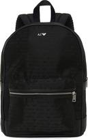 Jacquard Logo Backpack