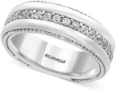 Effy Men's White Sapphire Band (1 ct. t.w.) in Sterling Silver