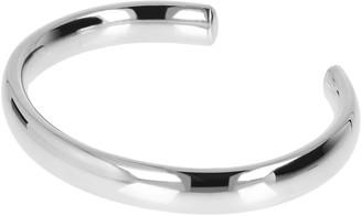 Italian Silver Polished Slip-on Cuff