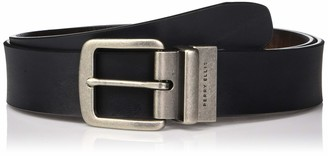 Perry Ellis Mens Portfolio Casual Brown Reversible Belt 35mm