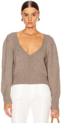 KHAITE Charlette Sweater in Barley | FWRD