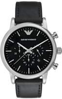 Emporio Armani Chronograph Watch Schwarz