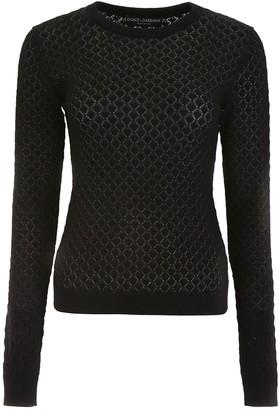 Dolce & Gabbana Crew-Neck Knitted Sweater
