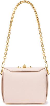 Alexander McQueen Box Bag Pebbled-leather Shoulder Bag
