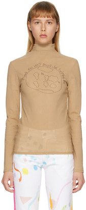 Collina Strada Beige World Cardio Nova Turtleneck