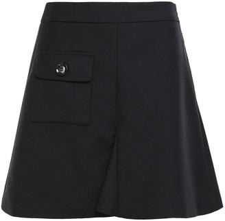 ANNA QUAN Remi Flared Twill Mini Skirt