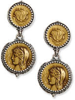 Konstantino Demeter Coin Drop Earrings