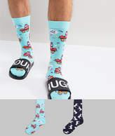 Asos Socks With Pinata Design 2 Pack