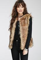 Forever 21 Shaggy Faux Fur Vest