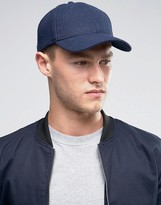 Selected Baseball Cap in Wool