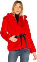 Lovers + Friends Valentine Faux Fur Coat