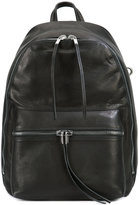 Rick Owens zipped backpack - men - Leather - One Size