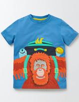 Boden Jungle Appliqué T-shirt