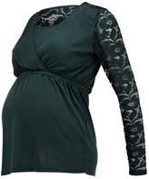 Mama Licious MAMALICIOUS MLDIDDE TESS Long sleeved top dark green