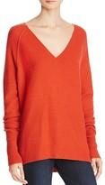J Brand Bache Wool-Cashmere V-Neck Sweater