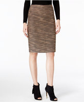 Catherine Malandrino Stacia Tweed Pencil Skirt