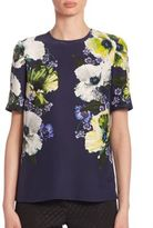 Erdem Armilla Short Sleeve Top