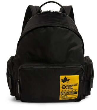 DSQUARED2 Dominate Logo Patch Backpack