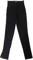 Moncler Black Cotton Trousers