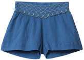 Little Karl Marc John Sale - Imagy Embroidered Shorts