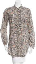 Etoile Isabel Marant Printed Button-Up Tunic