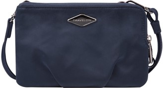 Travelon Parkview Anti-Theft Double Zip Crossbody Clutch