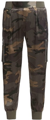 ATM Anthony Thomas Melillo Silk Camo Joggers