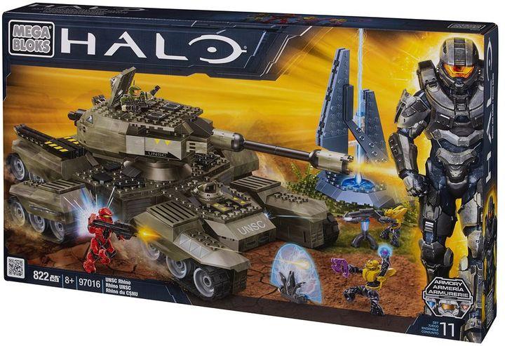 Mega Bloks Halo unsc rhino by 97016