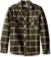 Rip Curl Men's Marin Long Sleeve Flannel Shirt