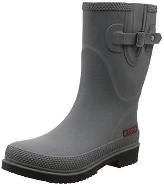 DOGGO Women Lotte Brushed Wellington Boots Wellington Boots, Grey (Grau 005), 38