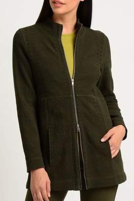 Lynn Ritchie Jacquard Zip-Up Jacket
