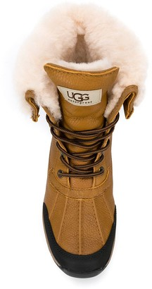 UGG Shearling Lined Lace-Up Boots