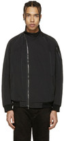 Julius Black Asymmetric Bomber Jacket